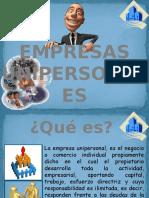 Exposicion Empresa Unipersonal