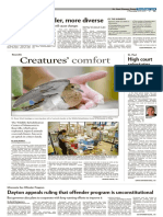 Pioneer Press 1A and Local Cover Display Headlines
