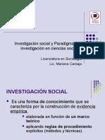 1_ Investigación Social y Paradigmas Científicos