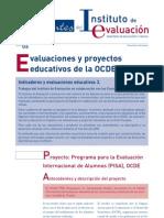 Evaluaciones y Proyectos Educativos de La OCDE