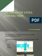 Steel Connection Methods