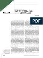 El descubrimiento del conducto pancreático