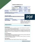 SESIÓN DE APRENDIZAJE N°1  PFRH  4° SEC.