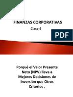 Capitulo 4 Finanzas Corporativas