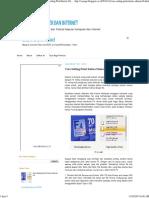 Cara Setting Print Kertas Ukuran F4