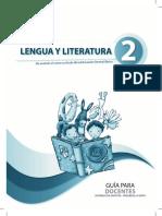 Lengua y Literatura 2 Docente
