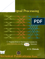 Digital signal processing by  Chitode