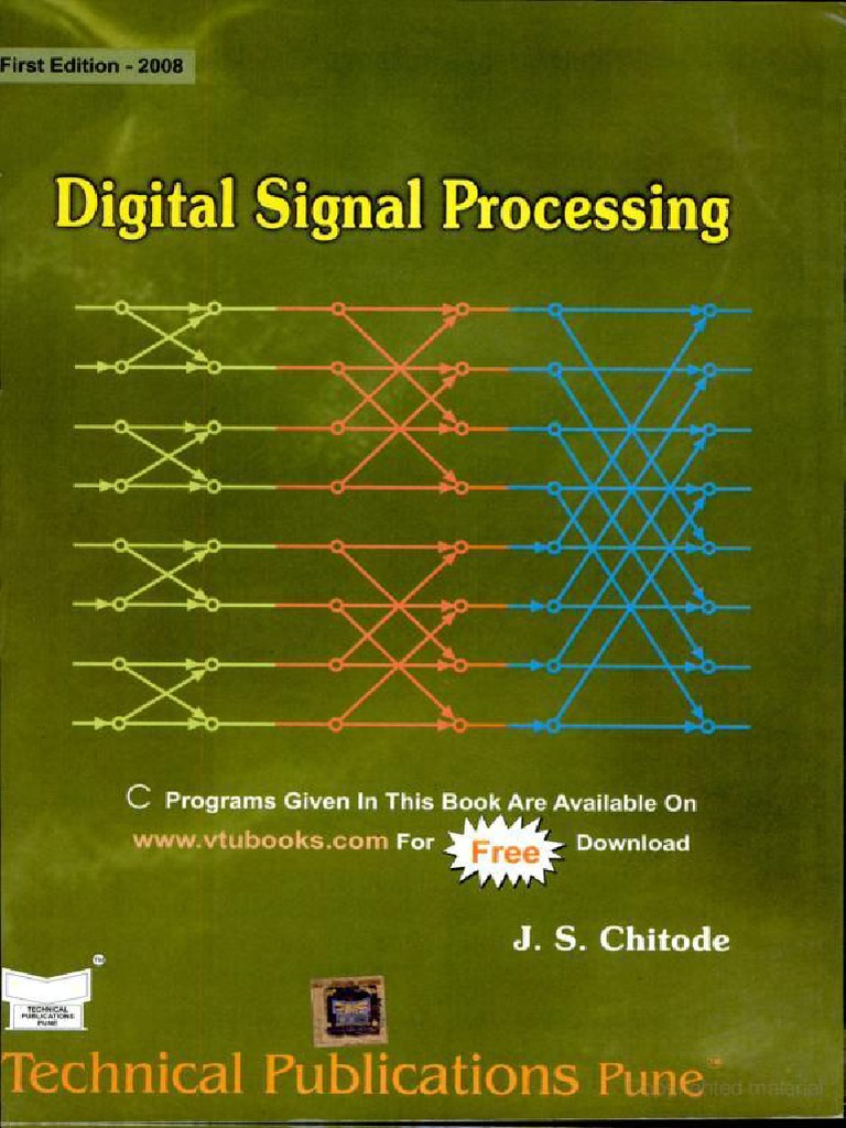 Digital Signal Processing By Chitode Epub Download