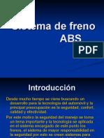 Sistema de Freno ABS.