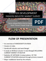 Shantinekaten Birbhum Handicrafts Cluster Govt NIFT Presentation