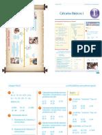 Guía 1 - Cálculos Básicos I