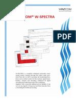 Wavecom Ch W-spectra Brochure