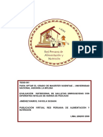 Tesis Galletas Con Harina de Pescado- Datos de Produccion Nacional