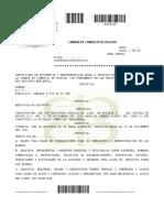Certificado de Constitución y Gerencia 2016