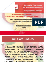 Fernado Intriago (Seminario Balance Hidrico)