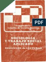 Lourdes Urrutia Sociologia y Trabajo Social Aplicado