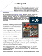Tips Memilih Rental Mobil Yang Tepat