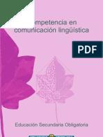 La competencia en comunicación lingüística en ESO