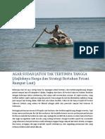 Strategi Bertahan Petani Rumput Laut