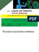 active immunity ppt