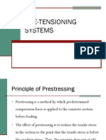 Pretensioning Systems