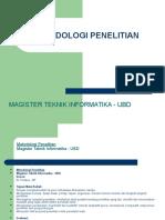 METODOLOGI PENELITIAN-5Maret2013-1.ppt