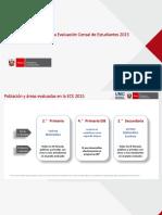 Resultados ECE 2015