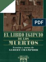 35744582 El Libro Egipcio de Los Muertos Albert Champdor