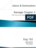 M.3.14 Eng102 SemicolonsColons ClassicalArguments