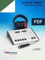 Folleto Audiotest SM910 ES