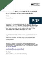2012 Meteyard Review of Embodiment and the Neuroscience of Semantics