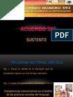 ACUERDO 592 Diapositivas S