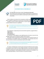 Programa Nac de Formacion Politica - Modulo III