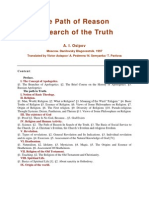The Path of Reason in Search of the Truth - A.I. Osipov