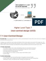 t7 user centred design  ucd  wip sept 2015