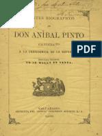 Pinto Apuntes Biograficos.