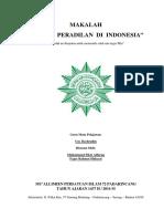 Makalah Sistem Peradilan Di Indonesia