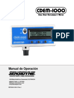 CDEM Operation Manual 8-10-11-V2 6-Spanish-Rev1