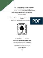 Laporan KP MATARAM TUNGGAL GARMENT