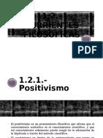 Positivismo y Humanismo