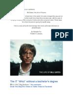 Trabajo Sobre Bill Gates en Castellano