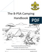 The B-PSA Camping Handbook