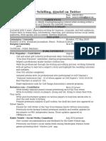 Jeremy Schilling's Resume
