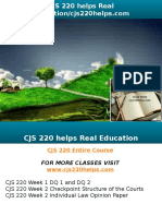 CJS 220 Helps Real Education-cjs220helps.com