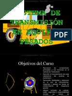 Curso Sistema Transmision Maquinaria Pesada Tipos Partes Componentes Funcion Mantenimiento Aplicaciones
