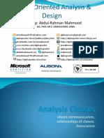 Analysis Classes