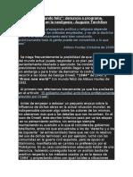 1984 y Un Mundo Feliz- Denuncia o Programa. Concordancias en La Neoilgesia - Augusto TorchSon