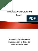 Capitulo 5 Finanzas Corporativas