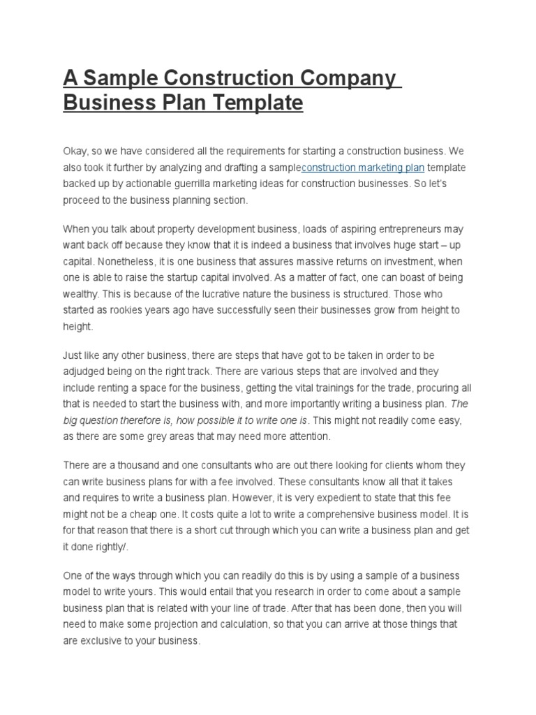 Construction firm business plan cover letter examples for car sales executive