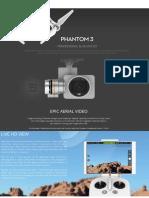 Brochure - Drone Phantom 3 Profesional